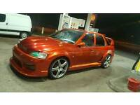 Modified ford escort 1.6 petrol NOT focus civic astra