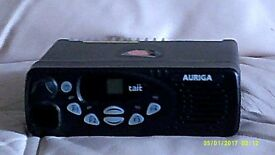 tait auriga two way taxi radio plus connections 136mhz to174 mhz