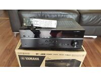 Yamaha r677 receiver 7.2 surround sound amplifier.