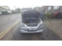 For sale 150 spares and repair great car and engine just has front end damage
