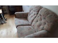 Two seater sofa- £60 including delivery