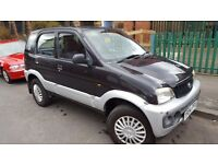 Daihatsu Terios 1.3 E 5dr 2001 (Y reg), SUV,12MTH MOT,73000 MLS VERY GOOD CONDITION