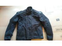 Like New Condition Frank Thomas Aqua Pore Motorcycle Jacket Size Small S