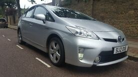 New Shape Toyota Prius 1.8 Hybrid T4 Toyota Service History UK Model pco