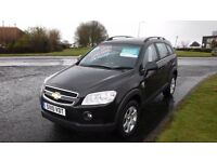 CHEVROLET CAPTIVA 2.0 LT VCDI,2010,4x4, TURBO DIESEL,ALLOYS,AIR CON,39,000MLS,Full Dealer HIstory,V