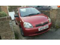 Toyota Yaris VVTi Colour Collection 1ltr with 12 months MOT