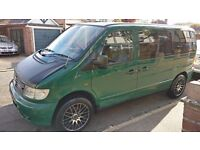 Mercedes Vito 2.2 108CDi - Fully converted camper van with drive-away awning