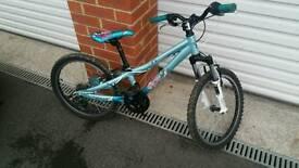 Kids girls Scott aluminium bike