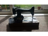 Singer sewing machine with singer sewing motor