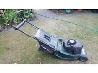 classic Admiral Petrol Lawn mower.