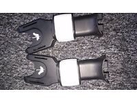 Bugaboo adaptors for Maxi Cosi car seat