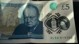 £ 5.00 notes