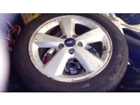 "Ford Focus 16 "" Alloy 5 stud"