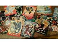 MARVEL CARDS 1-72