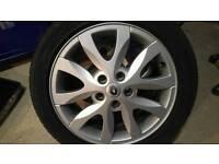 Laguna 2008 mk3 alloy wheel