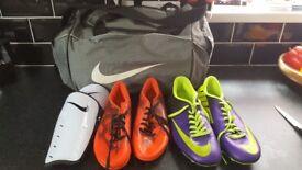 football equip.