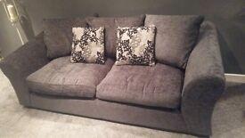Sofa and Fridge Freezer
