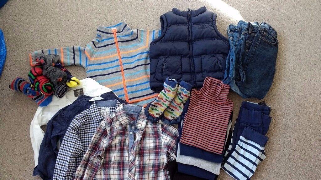 Boy's cold weather bundle, age 3-4