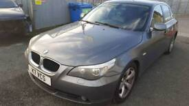 2006 BMW 520d MANUAL GREY STARTS AND DRIVES PRIVATE REG