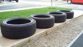 Tyre set 225 45 17 (4x), 4 tyres