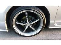 Honda civic type r type s alloy wheel with tyer