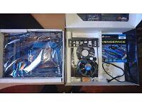 i5 2500k, P8P67 Deluxe and 8GB Corsair Vengence Ram, Overclocked @ 4.5Ghz