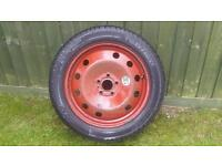 Renault Espace Laguna Spare Wheel with New Continental Tyre