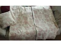 Curtains, cushions and cushion covers