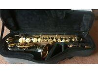 Rare Black and Gold Jupiter JAS-769 Alto Saxophone