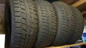 4 X Winter tyres to fit ix35 or similar