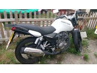 Zontes panther 125 white
