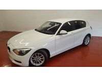 2014 BMW 1 Series 1.6 116d EfficientDynamics Sports Hatch (s/s) 5dr FBMWSH, 1 OWNER, ALPINE WHITE!