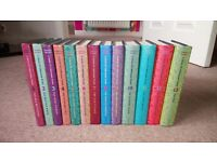 A series of unfortunate events- full series books 1-13. Hard back