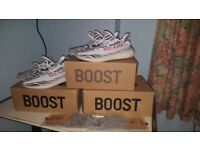 Yeezy 350 Boost V2 Zebra Size 9 UK Brand New in Box