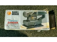 Black&decker sander fully working boxed!can deliver or post!Thank you
