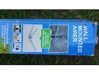 WALL MOUNTED OUTDOOR AIRER - BRAND NEW STILL IN BOX