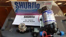 Shurflo 12v electric water pump