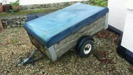 Small sprung chassis trailer