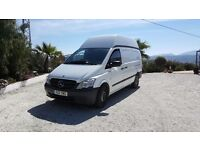 Mercedes-Benz Vito High Roof, L/W/B 113cdi White, Air-conditioning