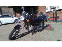 (Yammaha sr 125style) Superbyke Custom cc 2010 full mot mint condition!! Bargain!! PRICE DROP!!