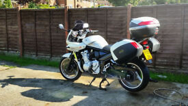 Bandit 1250 with luggage and full history