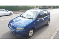 2003 Fiat Punto Dynamic 1.2 Petrol 8 Month MOT 5 Door Only Done 58000 Miles Only..