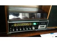 National Panasonic SG-2050 LD Music Centre Amp and Turntable Radio Cassette