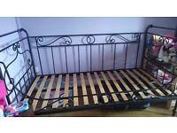 Single bed frame £60