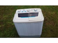 Mini washing machine - OneConcept DB004 - Great for Caravan, Camping or Flat.