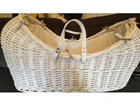 Nearly new baby Moses basket