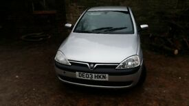 Corsa 2003 for sale
