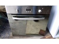 single electric oven stainless steel