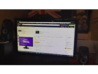BenQ GL2450HM LED TN 24 inch Widescreen PC Monitor 1080p (DVI-D & VGA) Black