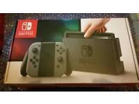 Nintendo switch console mint